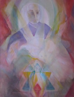 The Magician – Heartlight Veil Painting
